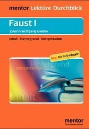 Cover of: Faust I. Diverse Umschlagfarben, unsortiert.