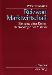 Cover of: Reizwort Martkwirtschaft