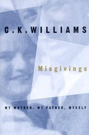 Cover of: Misgivings: my mother, my father, myself