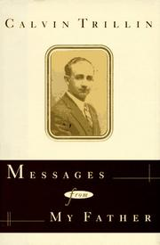 Cover of: Messages from my father