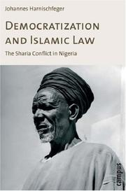 Cover of: Democratization and Islamic Law | Johannes Harnischfeger