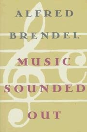 Cover of: Music sounded out | Alfred Brendel