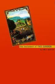 Cover of: The testament of Yves Gundron
