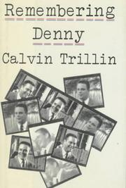 Cover of: Remembering Denny