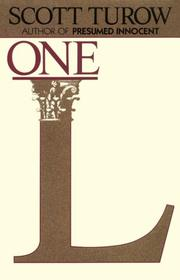 Cover of: One L