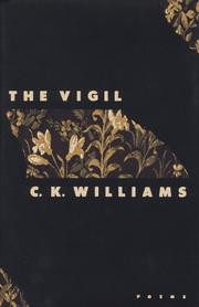 Cover of: The vigil: Poems