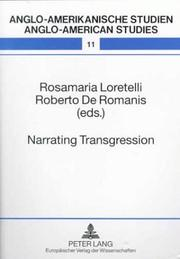 Cover of: Narrating Transgression