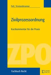 Cover of: Zivilprozessordnung by Erich Feil