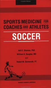Cover of: Sports Medicine for Coaches and Athletes | Adil E. Shamoo