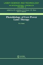 Photobiology of low-power laser therapy by T. I. Karu