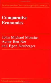Cover of: Comparative economics