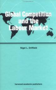 Cover of: Global competition and the labour market