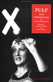 Cover of: Pulp and other plays