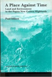 Cover of: A Place against time | Paul Sillitoe