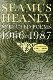 Cover of: Selected Poems 1966-1987
