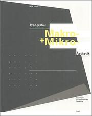 Cover of: Typografie