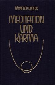 Cover of: Meditation und Karma