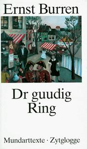 Cover of: Dr guudig Ring