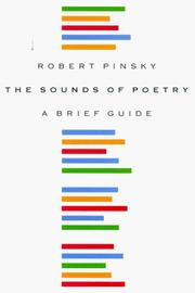 Cover of: The sounds of poetry