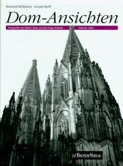 Cover of: Dom-Ansichten