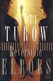 Cover of: Reversible errors