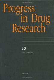 Cover of: Progress in Drug Research, Volume 50 (Progress in Drug Research)