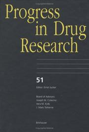 Cover of: Progress in Drug Research, Volume 51 (Progress in Drug Research)