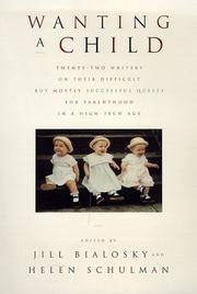 Cover of: Wanting a child
