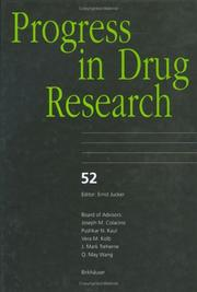 Cover of: Progress in Drug Research, Volume 52 (Progress in Drug Research)