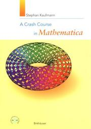 Cover of: A crash course in Mathematica