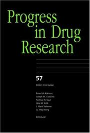 Cover of: Progress in Drug Research, Volume 57 (Progress in Drug Research)