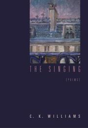 Cover of: The singing: Poems