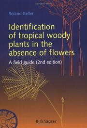 Cover of: Identification of tropical woody plants in the absence of flowers