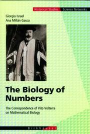 Cover of: The Biology of Numbers | Giorgio Israel