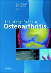 Cover of: The many faces of osteoarthritis |
