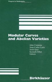 Cover of: Modular curves and abelian varieties |