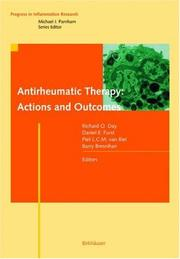 Cover of: Antirheumatic therapy |
