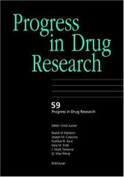 Cover of: Progress in Drug Research