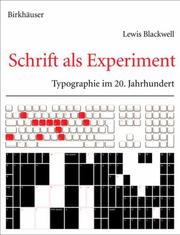 Cover of: Schrift als Experiment
