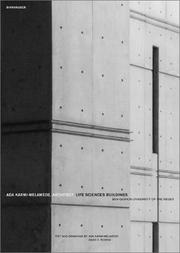 Cover of: Ada Karmi-Melamedek, architect