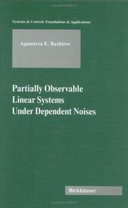 Partially observable linear systems under dependent noises by Agamirza E. Bashirov