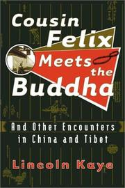 Cover of: Cousin Felix Meets the Buddha