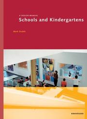 Cover of: Schools and Kindergartens | Mark Dudek