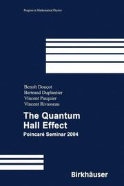 Cover of: The Quantum Hall Effect |