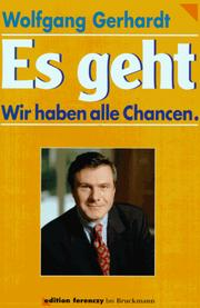 Cover of: Es geht