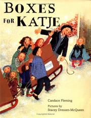 Cover of: Boxes for Katje