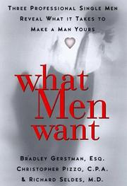 Cover of: What men want