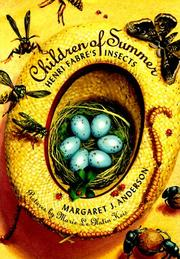 Cover of: Children of summer | Margaret Jean Anderson