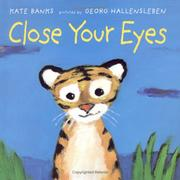 Cover of: Close your eyes