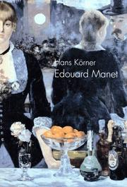 Cover of: Edouard Manet: Dandy, Flaneur, Maler